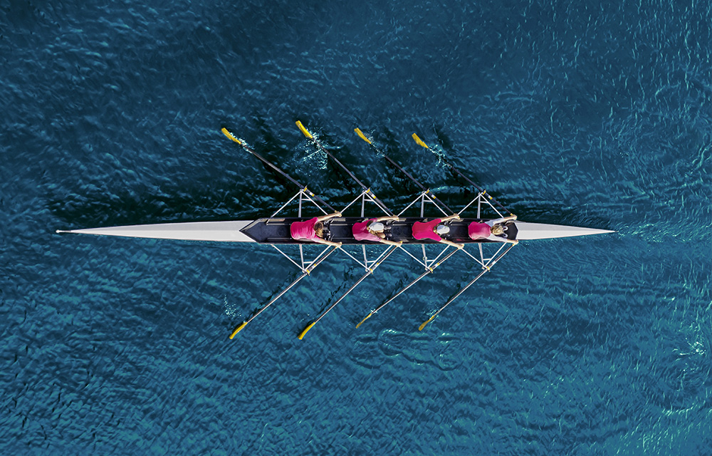 Team of Rowers in a Boat | MicroAccounting